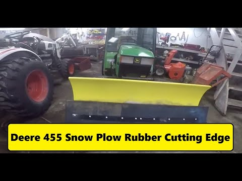 "Heavy Duty 3//8 Thick x 54/"" Plow Wear Bar Cutting Edge for John Deere Snow Plow"