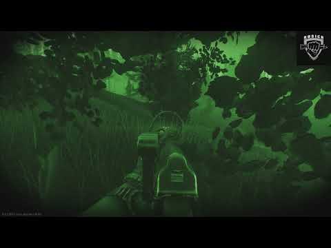 Лесные призраки !!! Русич РДГ(Ночь ,Лес)