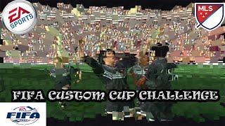 FIFA 2001 CUSTOM CUP CHALLENGE #3 - MLS [PC HD GAMEPLAY]
