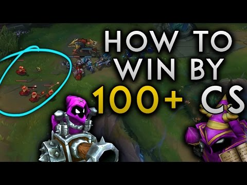 THE ENDLESS FREEZE! HOW TO WIN BY 100+ CS! SoloRenektonOnly Vs Riven - Road to Challenger #30