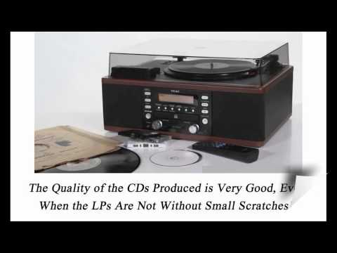 LP to CD Converter - Best Vinyl to CD/MP3 Converter