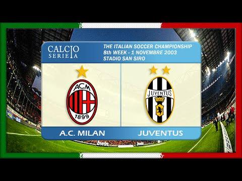 Serie A 2003-04, AC Milan - Juve (Full, RU)