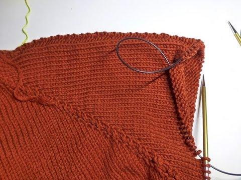 stricken mit elizzza raglan von oben teil