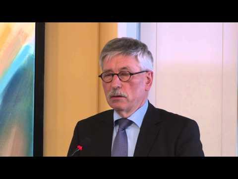 Thilo Sarrazin's tale i Trykkefrihedsselskabet