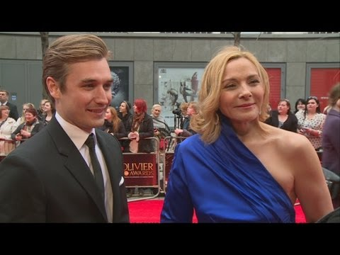 Olivier Awards 2013: Kim Cattrall Flirts With Co-star Seth Numrich