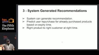 Recommendation System beyond traditional Collaborative filtering