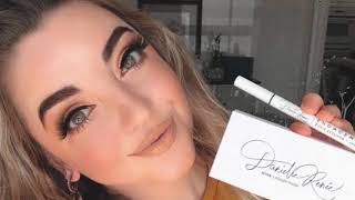 How to use the Engagement 2-in-1 eyeliner adhesive pen by Danielle Renée Beauté.