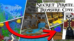Minecraft 1.14 Secret Underwater PIRATE COVE!