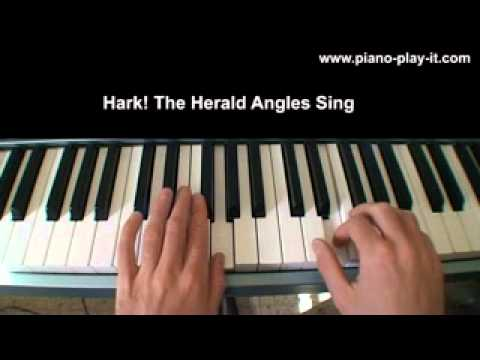 Hark The Herald Angles Sing Level 3 - Christmas Carol - Free Christmas Piano Sheet Music