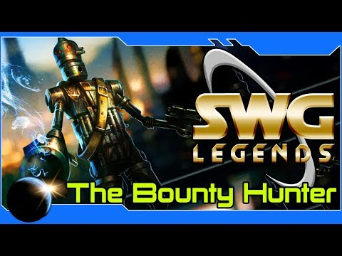 SWG Legends: The Bounty Hunter Path -Star Wars Galaxies Bounty Hunter Gameplay – Part 1