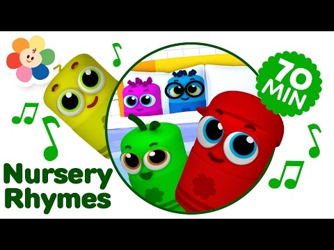 Ten in the Bed 3D Nursery Rhymes Compilation | Color Crew Babies | 3D Rhymes for Kids | BabyFirst