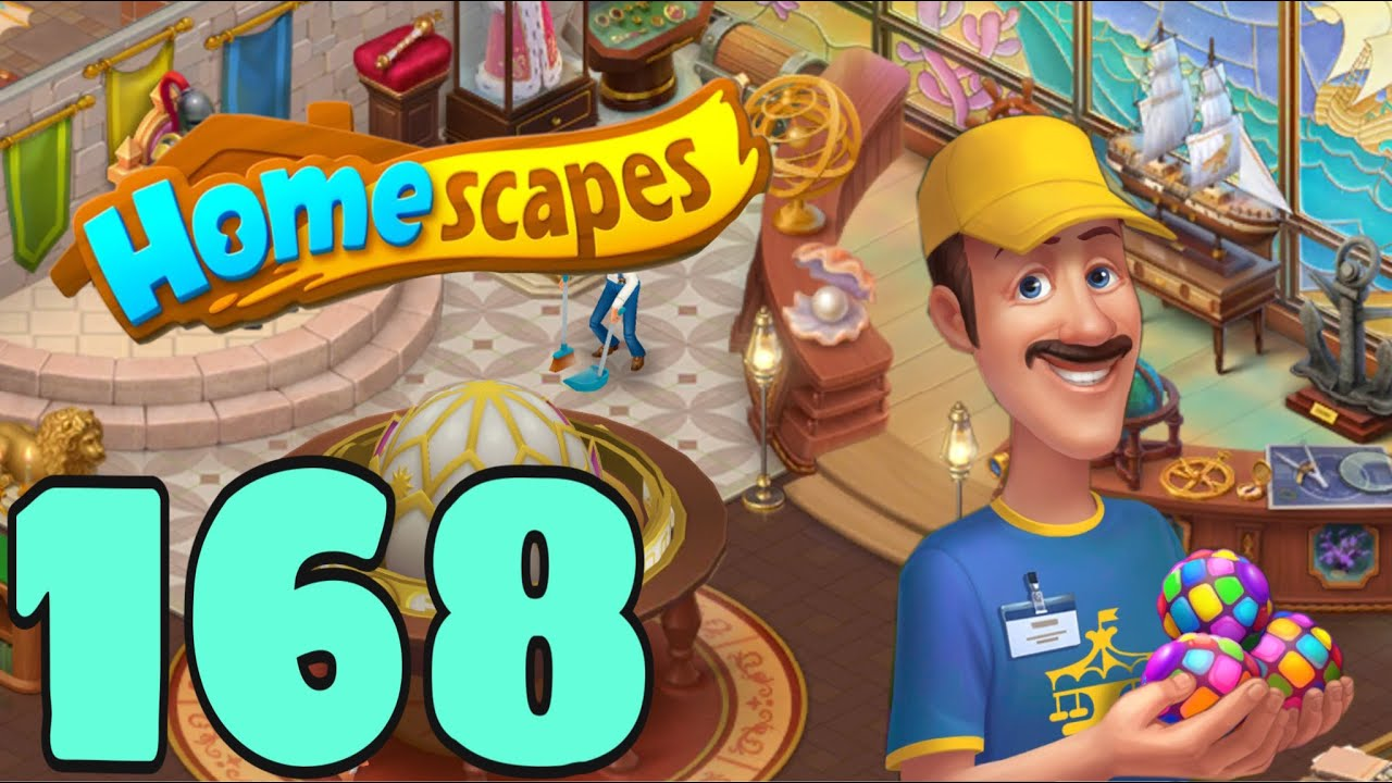 HOMESCAPES - Gameplay Walkthrough Part 168 - Chamber of Wonder Day 5