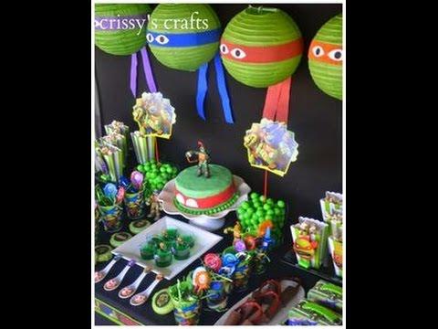the best ninja turtles party ideas YouTube
