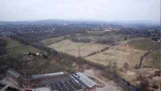 Barley Hall Street, Queens Park, Cricket Ground,bmx Track, Heywood, Long Range Fpv At High Altitude