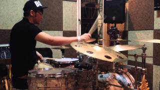 Salam bagi sahabat - IYR drum cover by gabriel kairupan