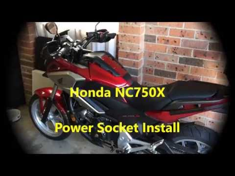 Honda nc750x power socket install youtube honda nc750x power socket install cheapraybanclubmaster Gallery