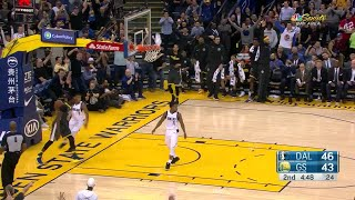 2nd Quarter, One Box Video: Golden State Warriors vs. Dallas Mavericks