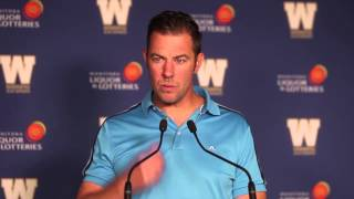 Bombers GM Kyle Walters answers questions regarding the upcoming CFL Draft