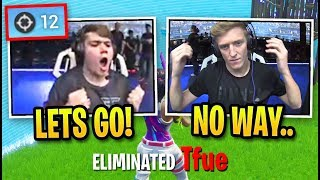 Crowd ERUPTS Spectating Monġraal DESTROYING Pros! (Fortnite World Cup Solo Finals - Game 4)