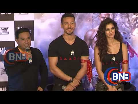 Baaghi 2 First Look Poster HOLLYWOOD LOOK  Tiger Shroff Is Back As The Rebellious Lover