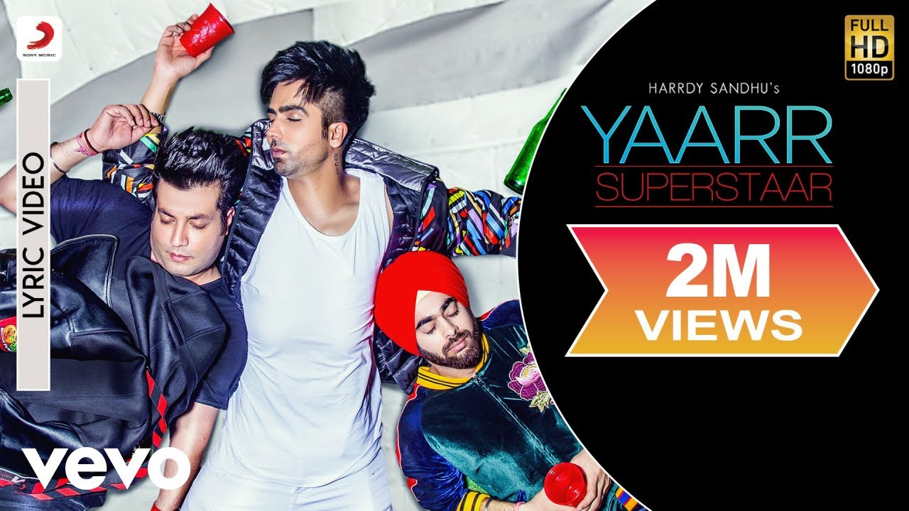 Yaarr Superstaar - Official Lyric Video | Varun | Manjot | Babbu | DirectorGifty