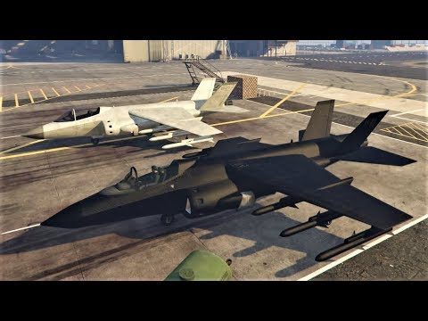 E245 The Mammoth Hydra VTOL Fighter Jet! Our Buy & Review! - Lets Play GTA 5 Online PC 60fps