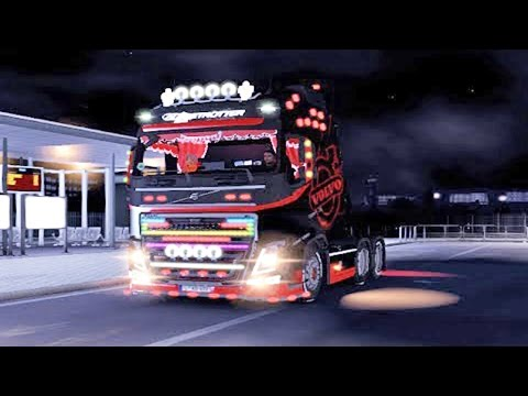 Volvo FH Mega Tuning ETS2 (Euro Truck Simulator 2)
