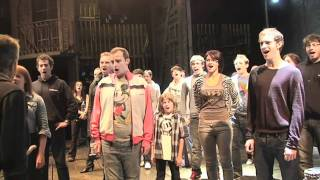 "Les Mis 25th Anniversary Sneak Peek - Part One: ""Backstage"""