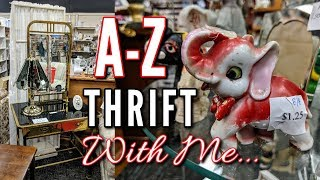 Thrift Store Shopping with Me+Haul-Project Thrift 52 Week 33