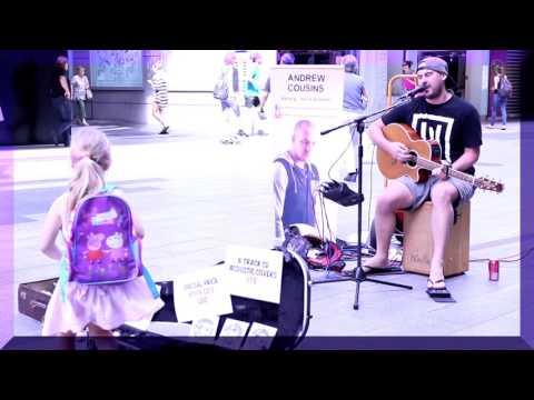 Andrew Cousins Let Her Go - Rundle Mall, Adelaide Sth Australia 2016