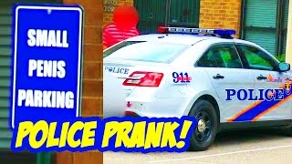 POLICE SMALL PENIS PRANK!! - Funny Pranks Compilation - Tom Mabe Pranks