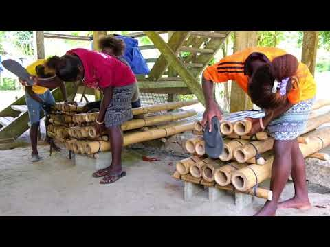 Spontaneous Bamboo Band Performance | Bougainville, Papua New Guinea