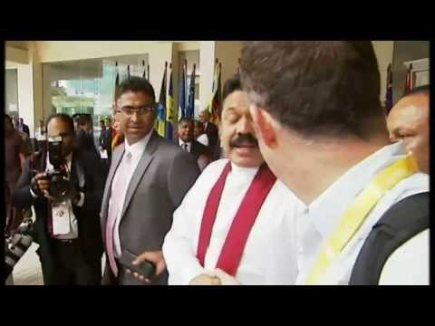 Sri Lanka President Mahinda Rajapaksa quizzed about allegations of war crimes