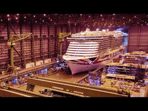 See how P&O Cruises Iona was built