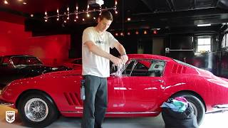 How to Wash Wax a Show Car