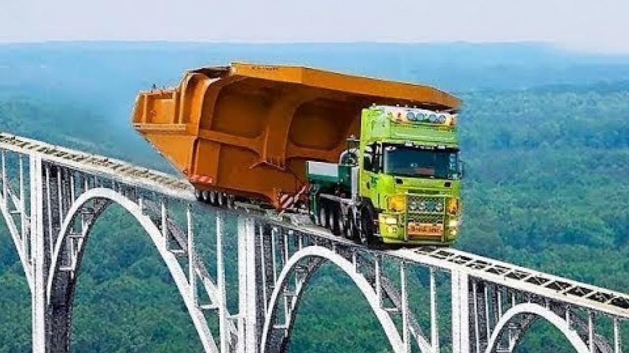12 от най-епичните и уникални превози на огромни товари по света!