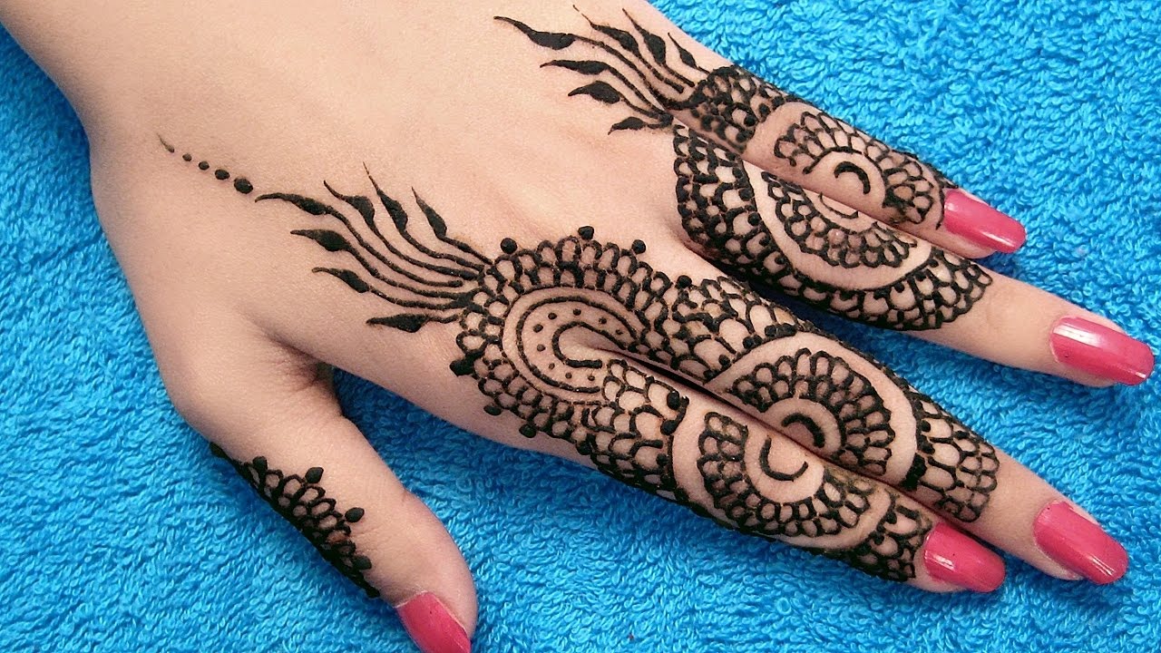Mehndi Designs Learning Hands : Mehndi designs for hands simple