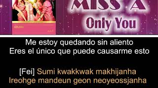 Miss A - Only You [Letra Sub Español + Rom] [Color Coded]