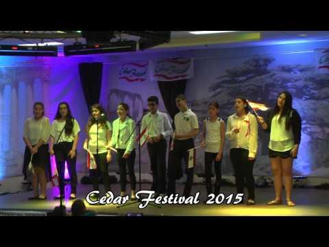 Cedar Festival Halifax 2015 - Lebanese Heritage School - Cedar Group