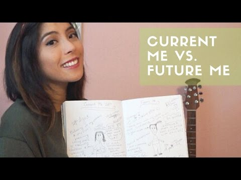Current Me vs. Future Me (Reflection & Vision Exercise by Lavendaire)