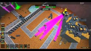 Roblox [Tower Battles] Win On 1v1 Without zed And We beat the void
