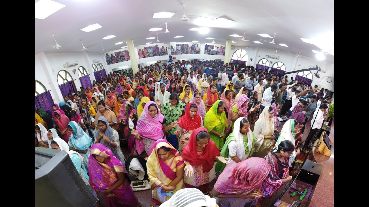 Hindi Service - Live from The Calvary Church Chennai | 17-03-2019 | Dr Jayapaul