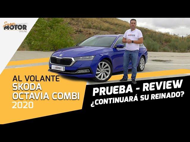 Al volante del Skoda Octavia Combi 2020/ SuperMotor.Online / T5 - E34