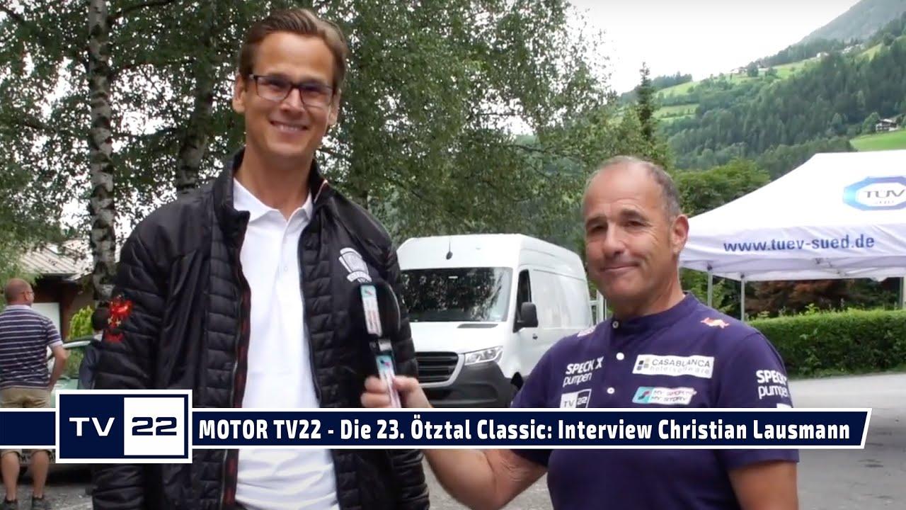 MOTOR TV22: Die 23. Ötztal Classic 2021 - Interview mit Mag. Christian Lausmann von TÜV Süd