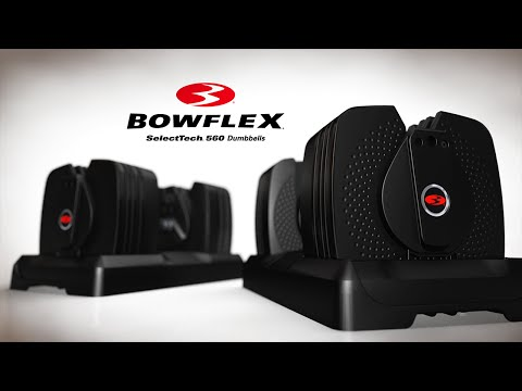 Bowflex SelectTech 560 - The World's Smartest Dumbbell