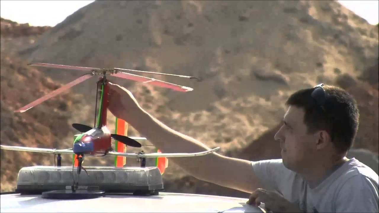 Autogyro Rosh Ha Shana Test Flights