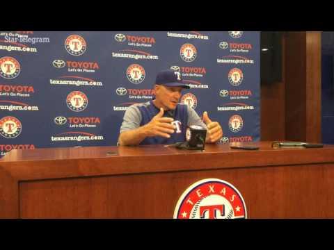 Jeff Banister discusses Tyson Ross's Rangers debut