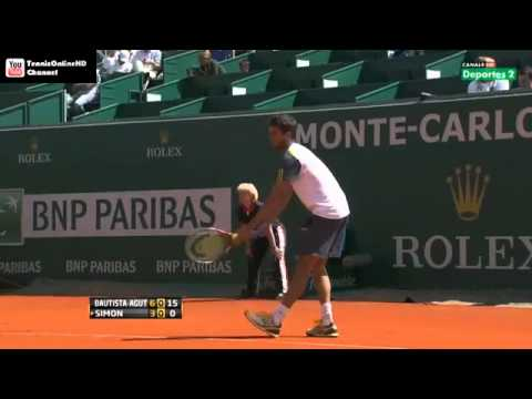Bautista-Agut vs Simon - Masters MONTECARLO 2013 (R1) - Full Match HD