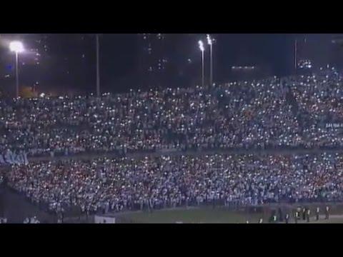 Atletico Nacional Fans Tribute Chapecoense in Stadium - Plane Crash Brazil