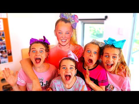 JOJO SIWA TURNS US INTO JOJO SIWA!